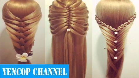 5 Peinados Faciles Y Rapidos Y Bonitos Con Trenzas (P6) Peinado