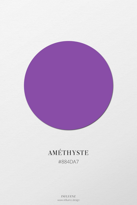 Amethyste Influenz Peinture Violet Nuancier Nom Des Couleurs