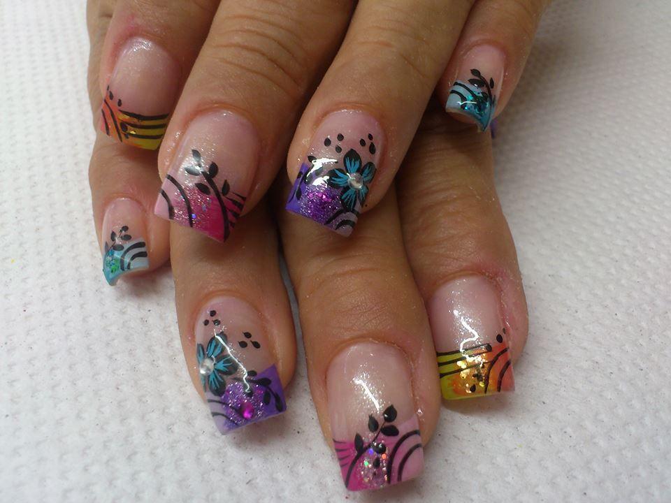 nails, unhas, uñas (con imágenes) | Uñas, Arte en uñas de ...