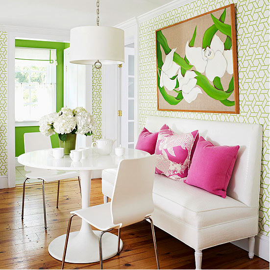 Classic color combinations pink green green accent walls classic color combinations pink green voltagebd Images