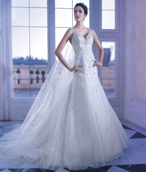 Dimitri Wedding Gowns: Demetrios Wedding Gown Style 559, Ilissa Collection