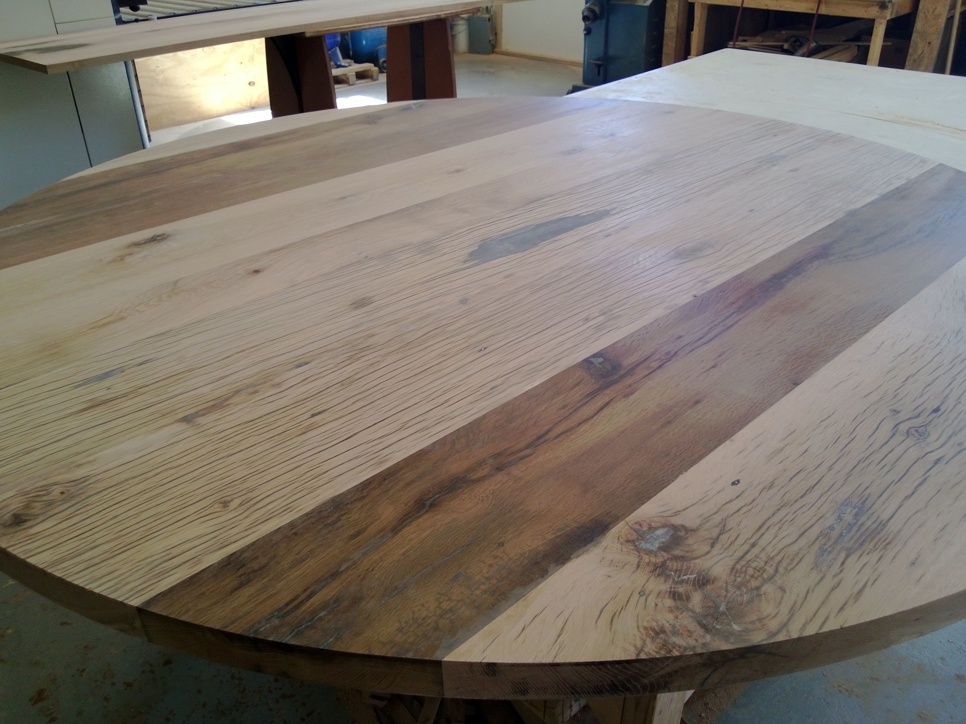 Reclaimed Oak Table Top TruCraft Furniture Pinterest Oak Table Top - Reclaimed oak table top