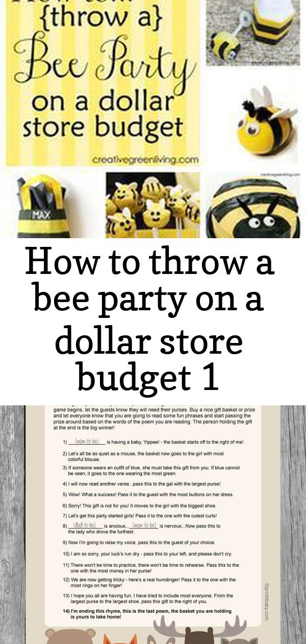 How to throw a bee party on a dollar store budget 1 #chilibar