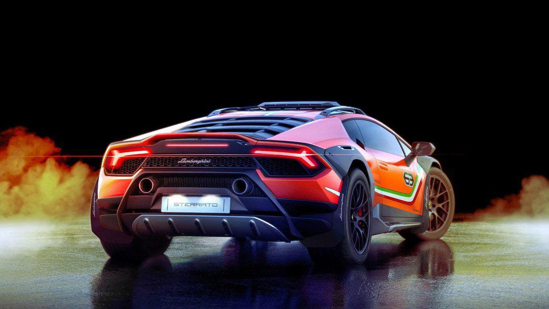 The Lamborghini Huracan Sterrato Is An Off Road Supercar Lamborghini Huracan Super Sport Cars Super Cars