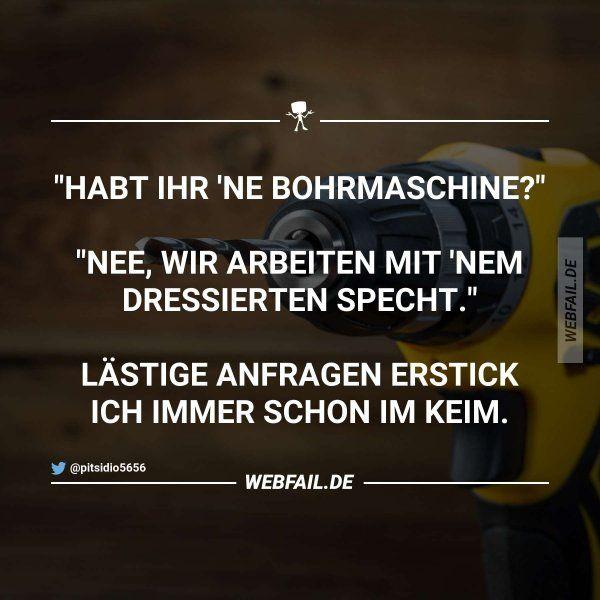 Dumme Frage, dumme Antwort   Sprüche   Pinterest   Fail ...