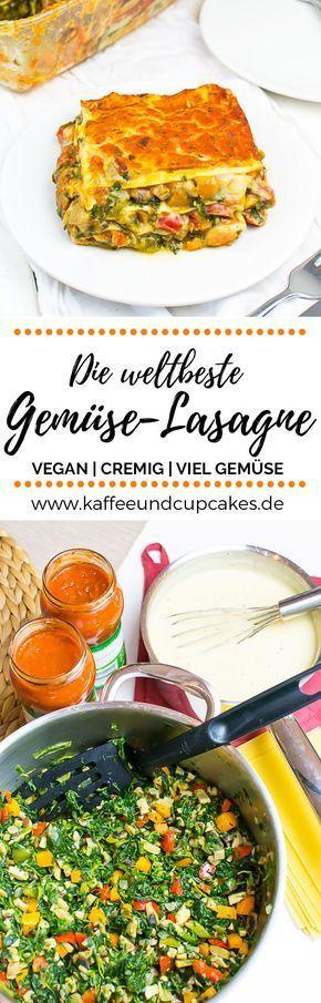 Die weltbeste Gemüse-Lasagne #vejetaryentarifleri