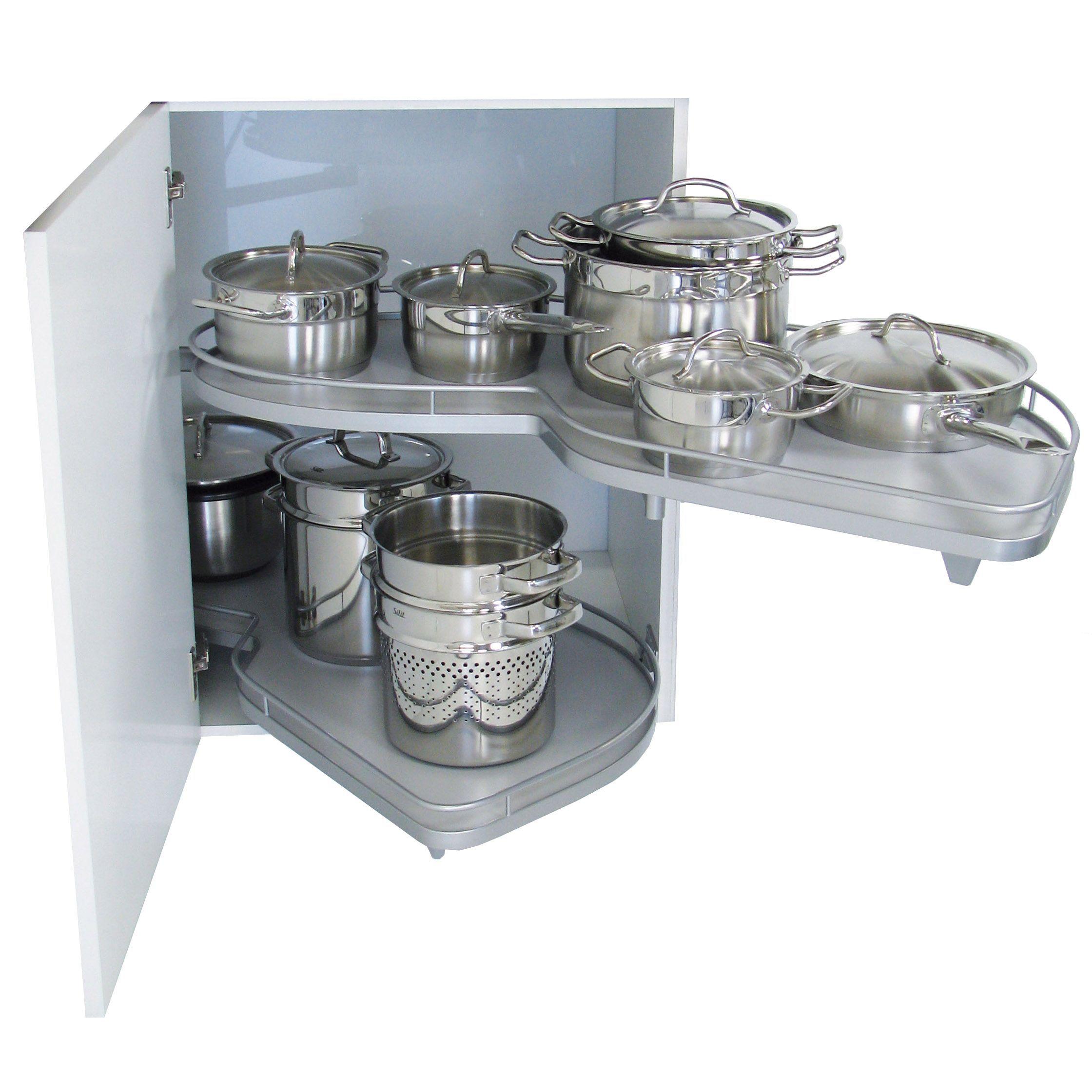 Kesseböhmer RH Lemans Corner Cabinet Storage, 1000mm | storage ...