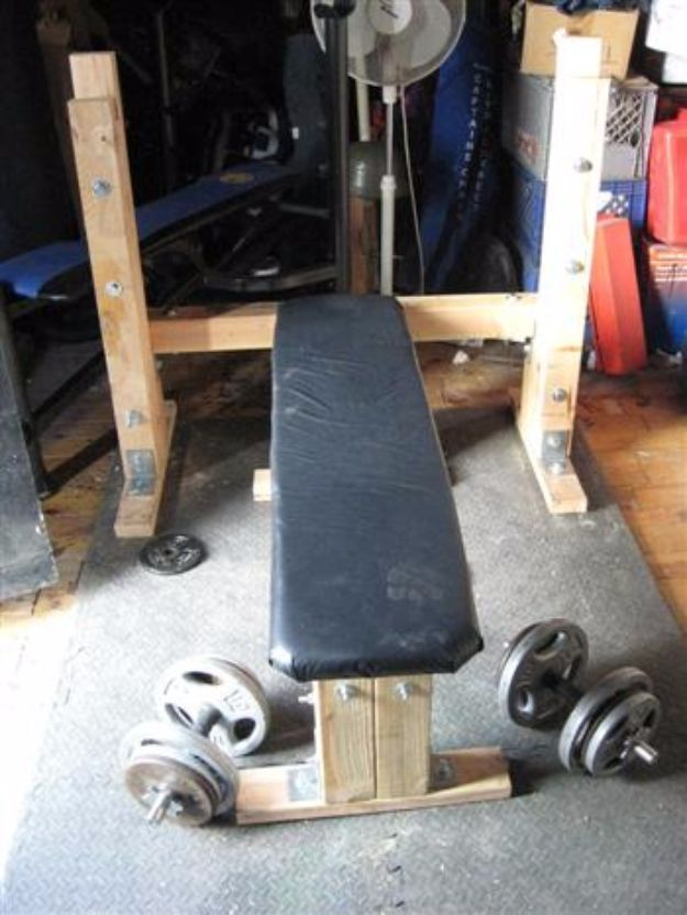 30 Diy Exercise Equipment Ideas To Make For The Home Gym Home Made Gym Homemade Gym Equipment At Home Gym