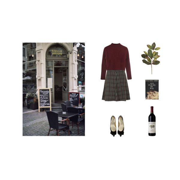 soirée poétique by ecchymosis on Polyvore featuring Dorothy Perkins and Baudelaire