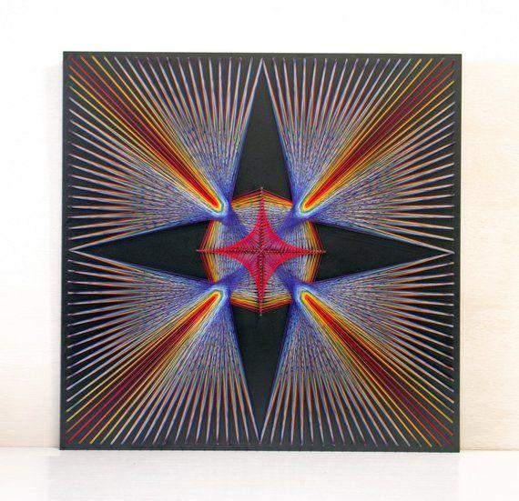 13c40c76c String Art REINFORCEMENT sacred geometry wall art home decor wall décor  Mandala Zen 3D art New Age