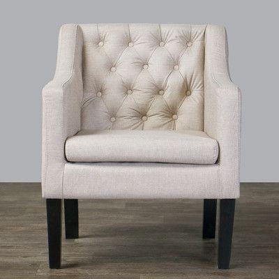 Wholesale Interiors Baxton Studio Brittany Club Chair U0026 Reviews   Wayfair