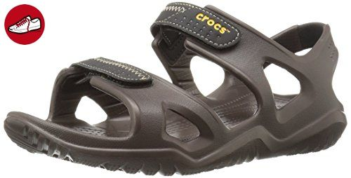 crocs Swiftwater River Sandal Espresso / Schwarz Croslite - Crocs schuhe (*Partner-Link)