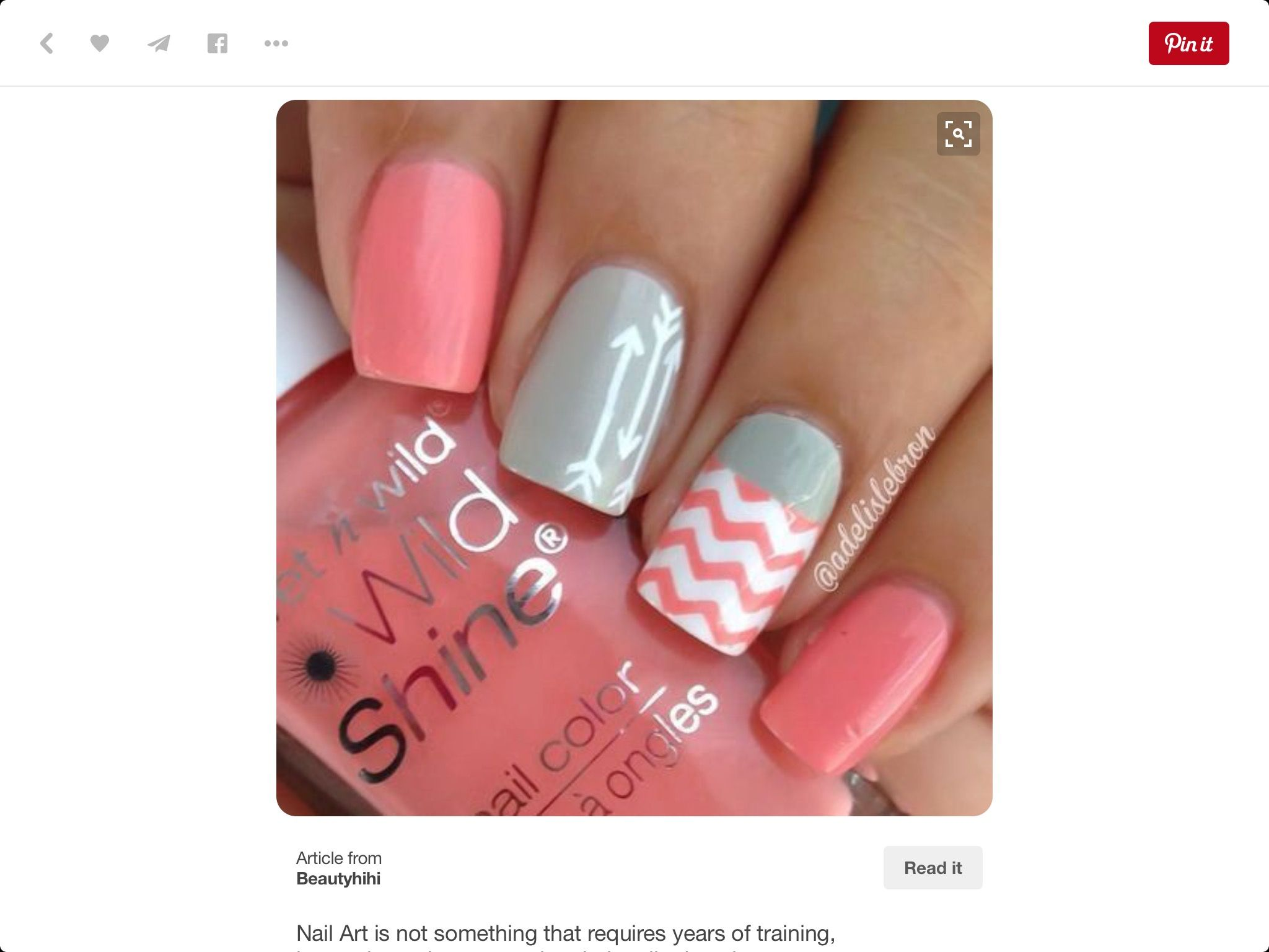 Pin by Cindy Couey on Nail thoughts | Pinterest | Nail nail ...