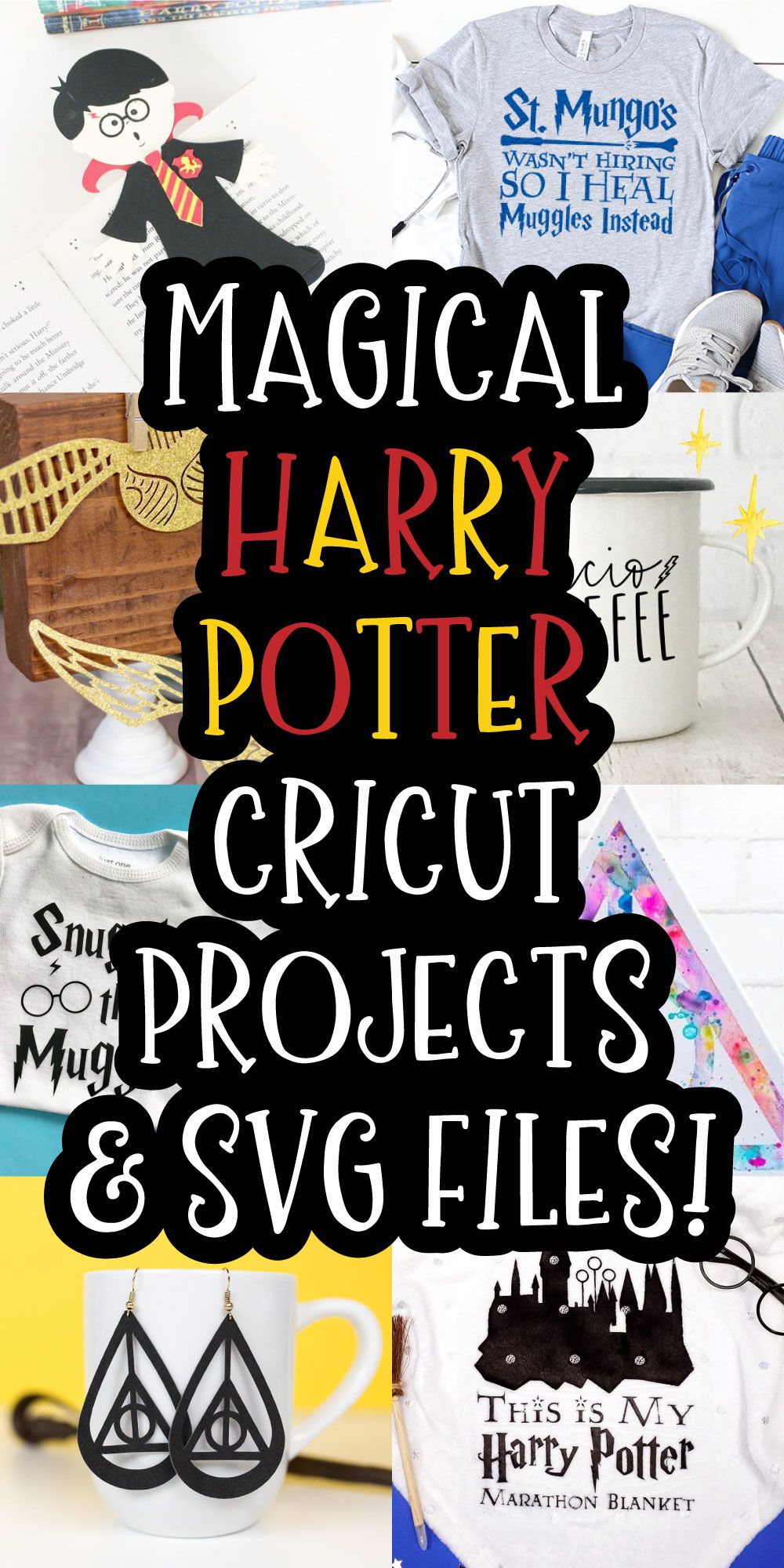 Magical Harry Potter Cricut Projects And Svg Files In 2020 Cricut Projects Vinyl Cricut Cricut Projects