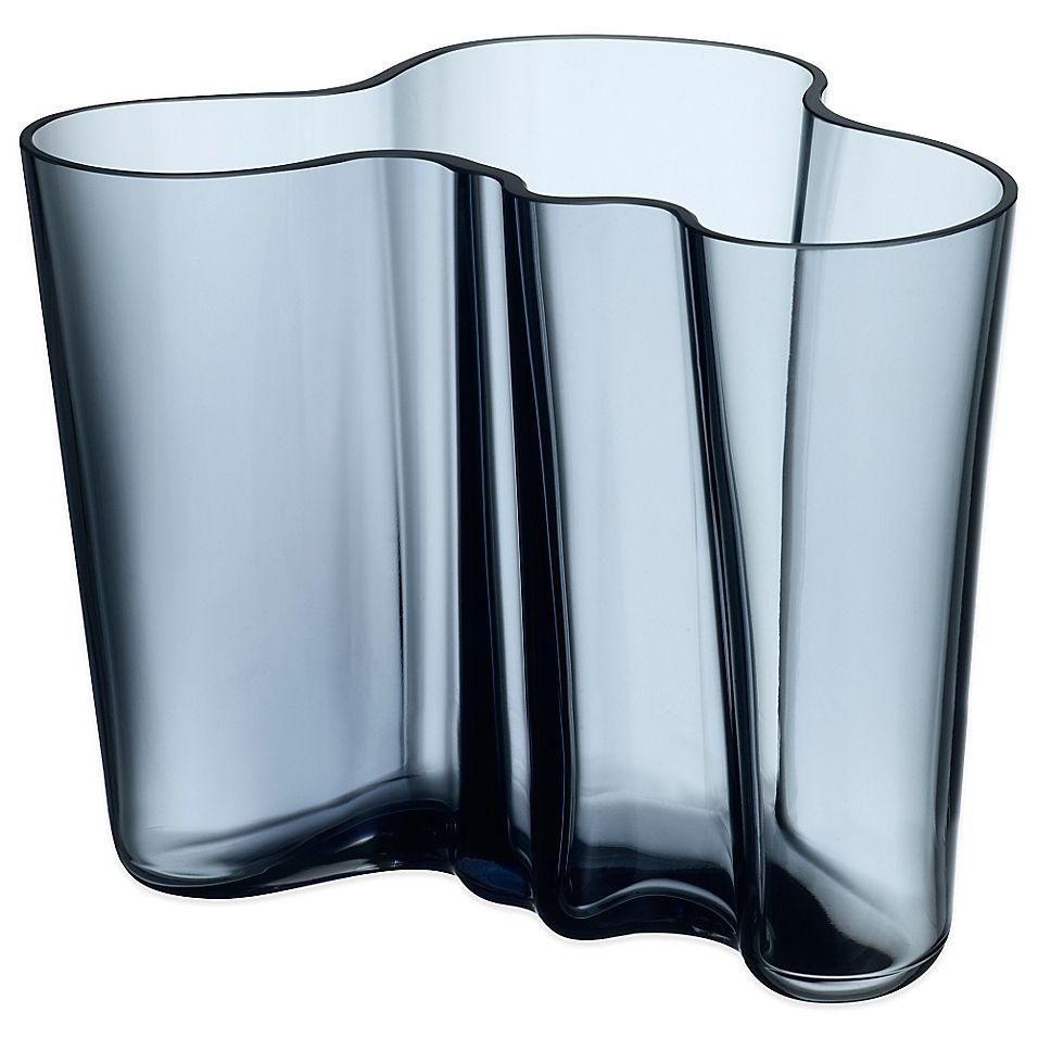 Iittala Alvar Aalto 6.25 Vase In Rain #wellnessimglas