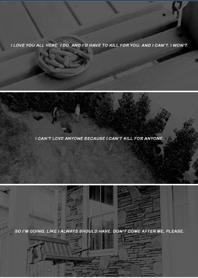 Carols Goodbye Letter SE  The Walking Dead