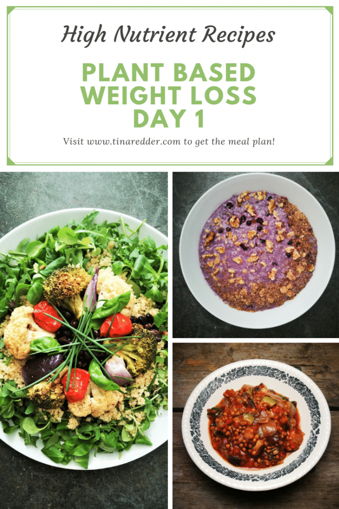 Pin on Weight Loss Meal Plans Plant Based
