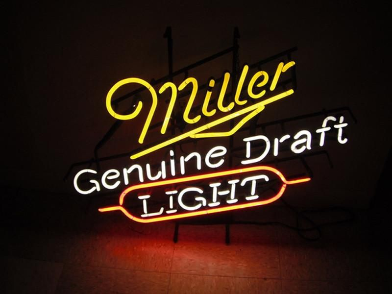 beer signs cave blatz barn miller pole lite michigan kalamazoo americanlisted
