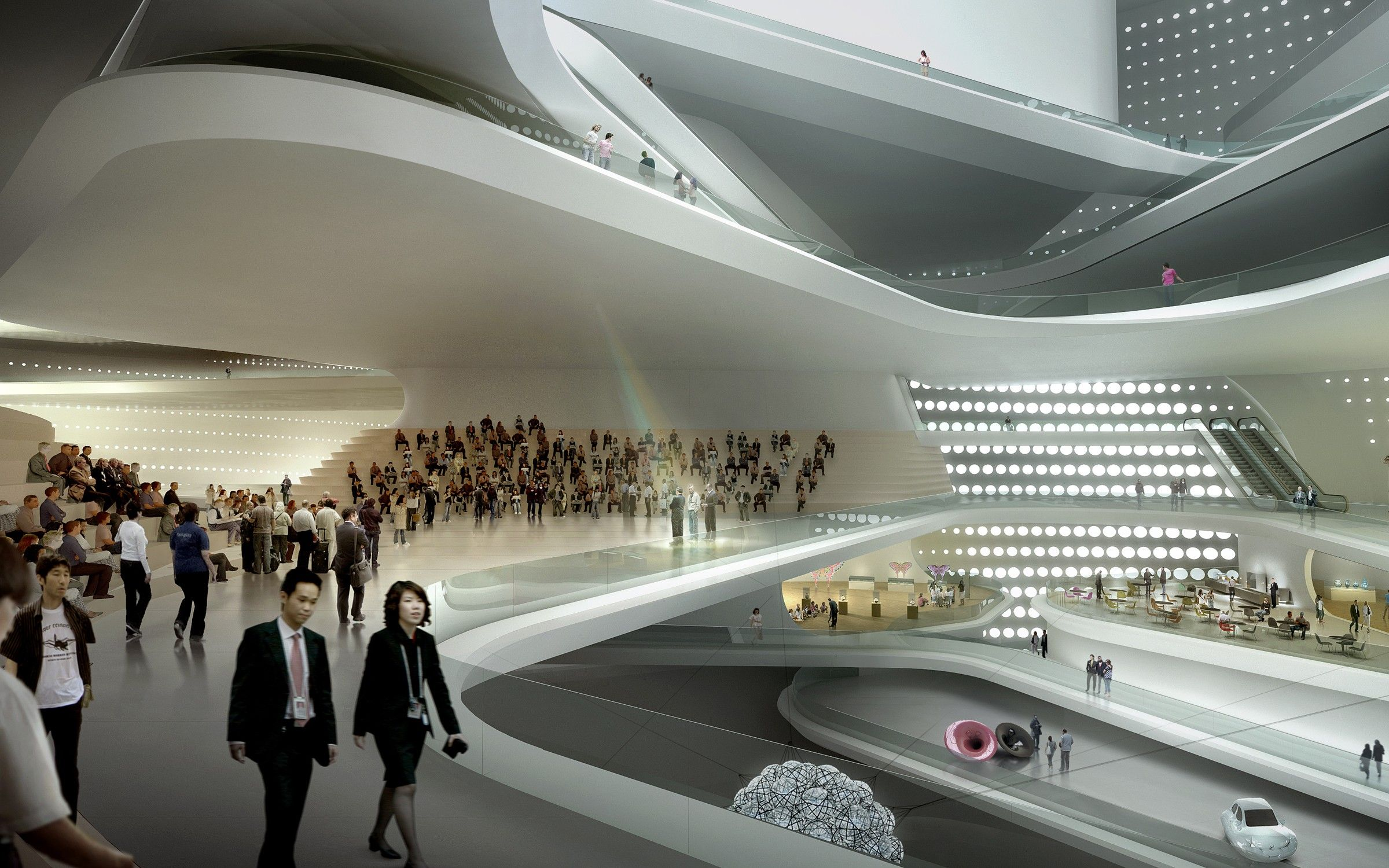 The National Art Museum of China » UNStudio | [ render ...