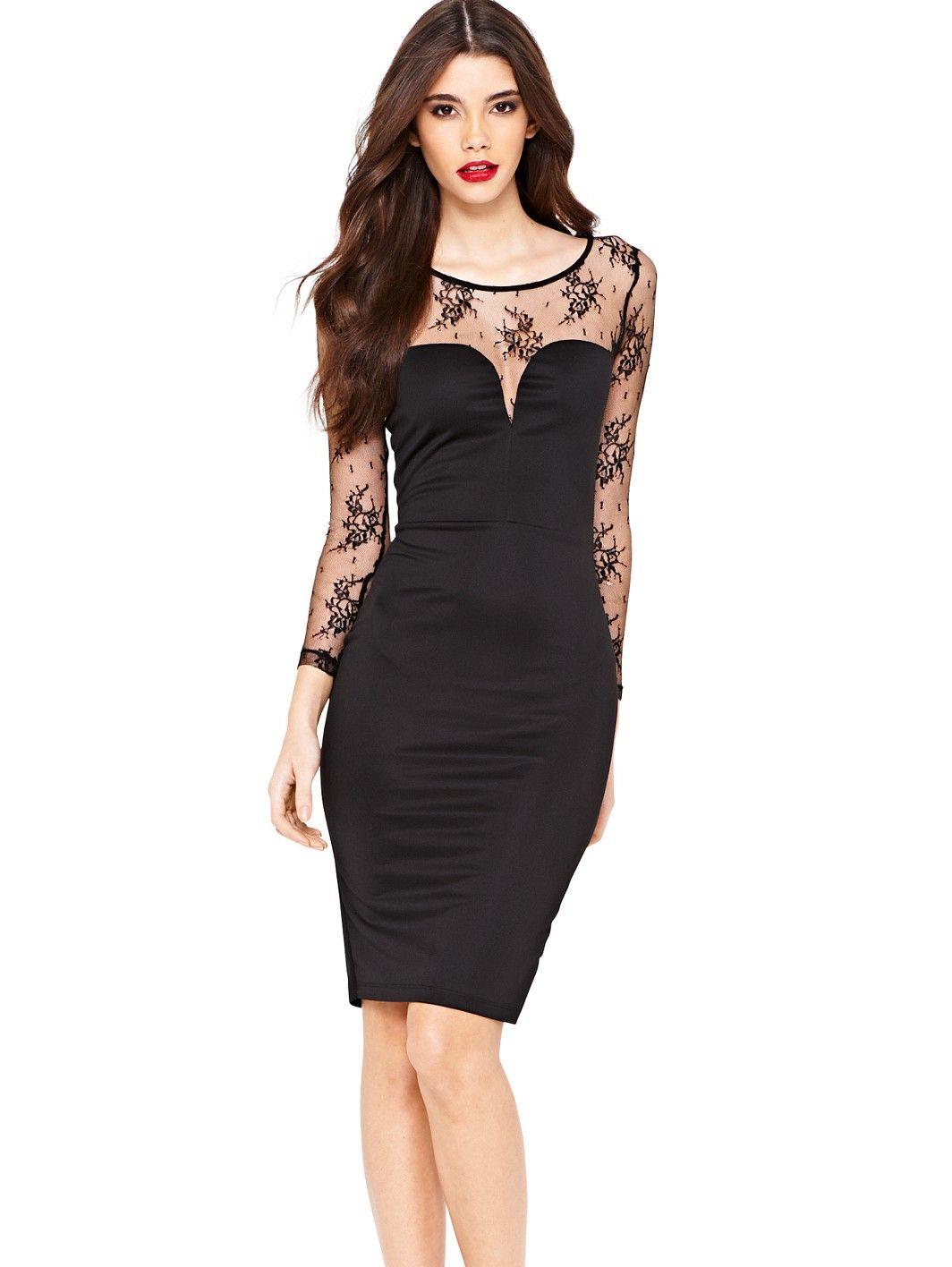 Lipsy kardashian kollection lace shift dress very fashion