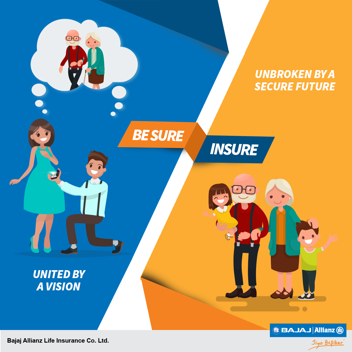 Plan Your Lives Together Secure Your Future With Life Insurance
