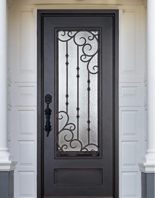 D51063 Single Iron Door Amara En 2020 Con Imagenes Puertas