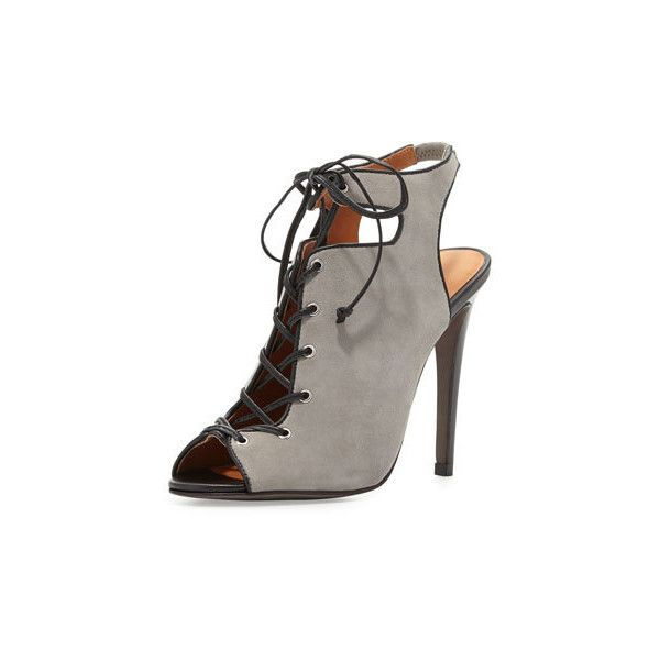 ce5af2fd1039 Rebecca Minkoff Rio Nubuck Lace-Up Bootie (260 CAD) ❤ liked on Polyvore