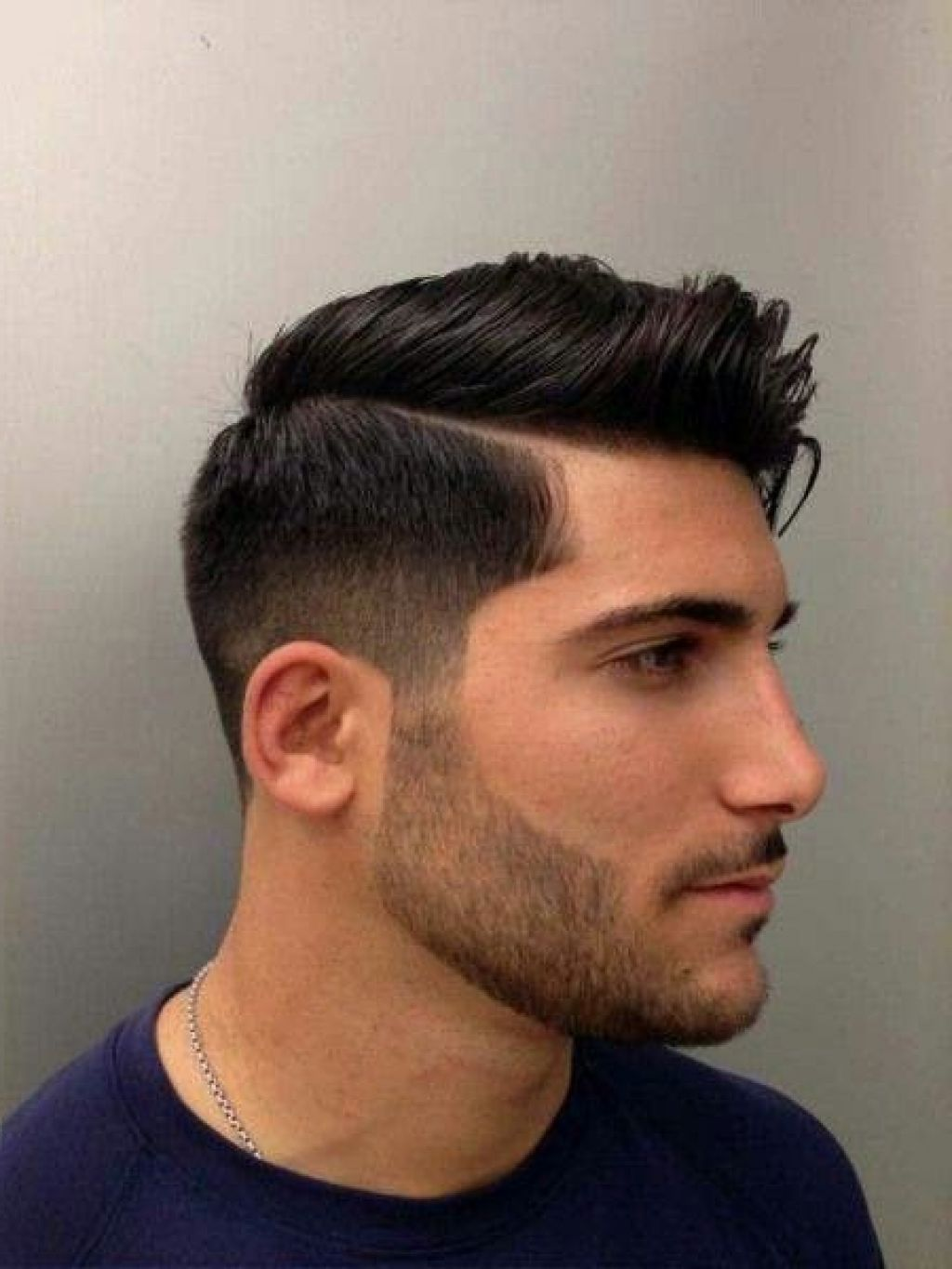 Faded Straight Haircuts For Men Latest Hairstyles For Medium Hair - Straight hair styles for men