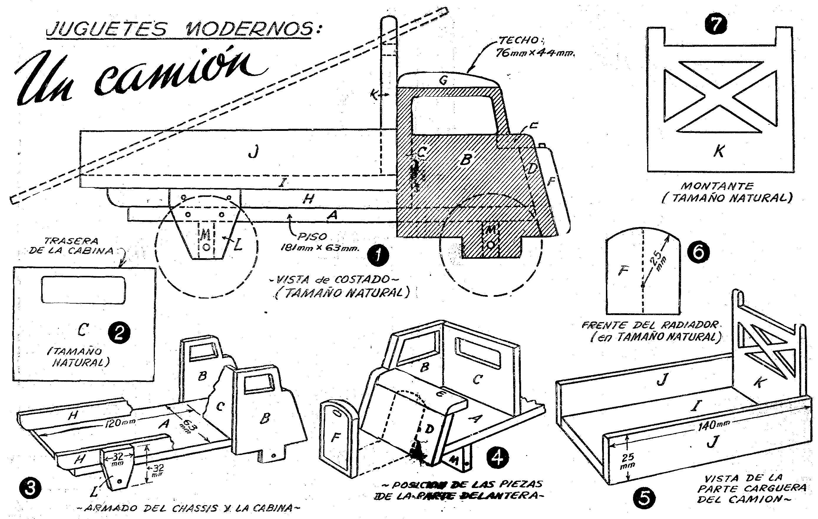 Planos de juguetes en madera gratis buscar con google - Como hacer un plano de una casa ...