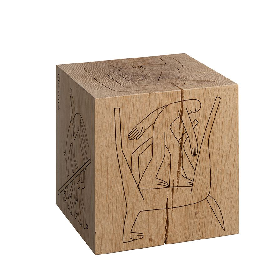 BIGFOOT™ DICE by artist and illustrator Geoff McFetridge / www.e15.com #e15 #bigfoot