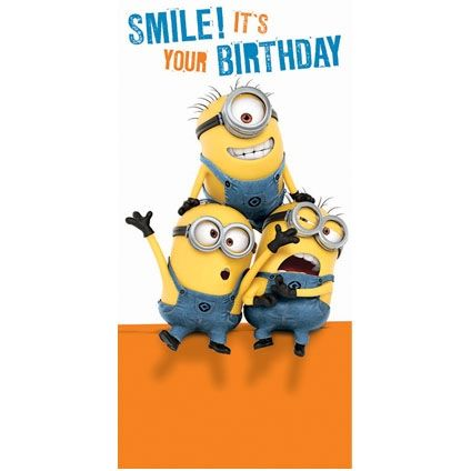 happy birthday despicable me - Google Search | HaPpY BiRtHdAy ...