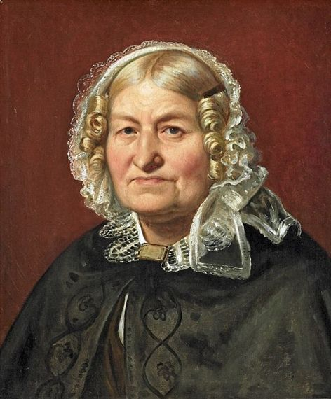 Wilhelm Marstrand, A woman with a lace bonnet. Yeah this is me in a few years I think.