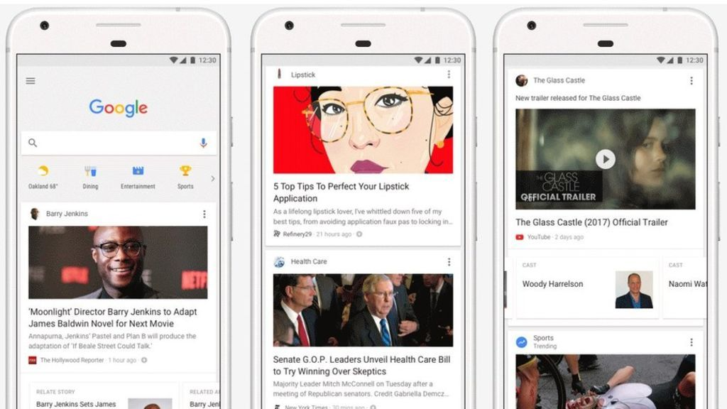Image copyright                  Google             Image caption                                      A continuous feed of news articles, videos and websites will appear on the Google homepage                               Google is adding a personalised Facebook-style news... - #Add, #App, #Feed, #Google, #News, #Website, #World_News