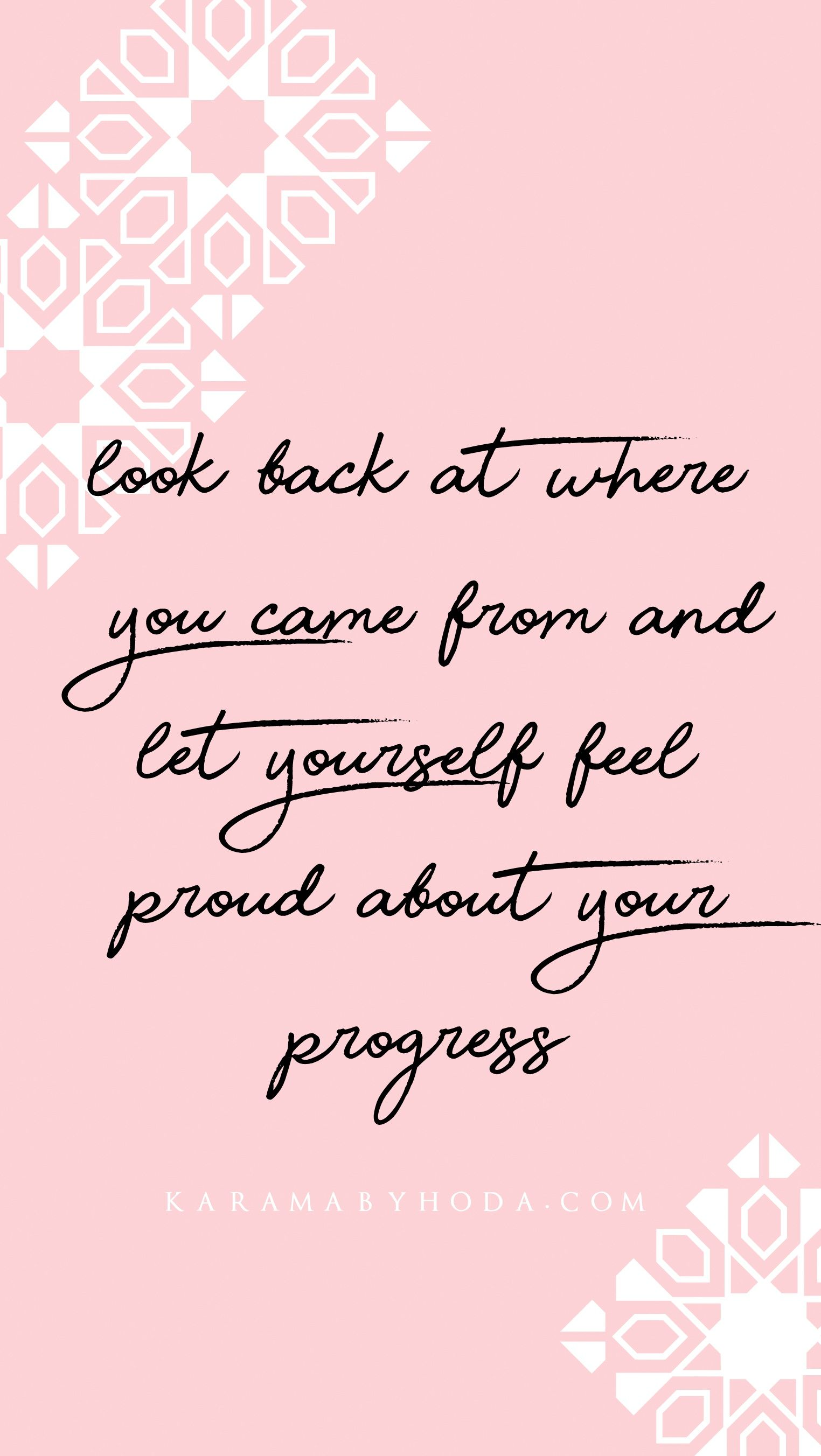 Shop Inspirational Wall Art Look Back At Where You Came From And Let Yourself Feel Inspirational Wall Quotes Inspirational Quotes Inspirational Quotes Decals