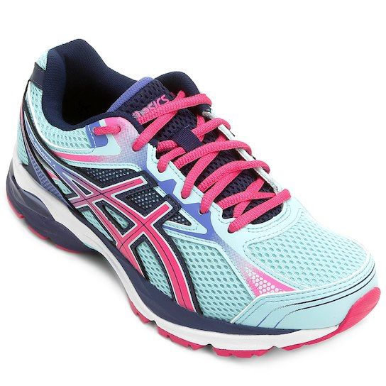 070b5918703 Tênis Asics GEL Equation 9 Feminino - Azul+Pink