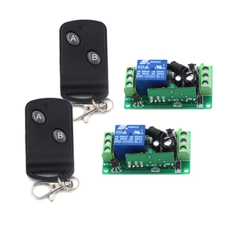 Dc 12v 1 Ch Rf Switch Wireless Remote Control Switch System 315