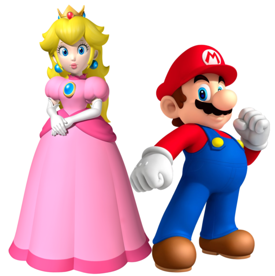 Mario and peach by legend tony980 on deviantart comic book ideas pinterest mario - Amis de mario ...
