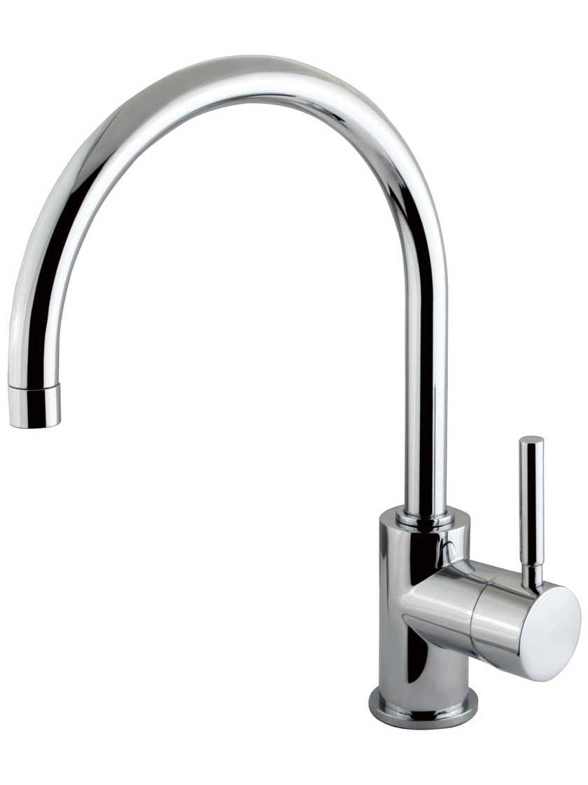 Sarasota Single-Hole Bar Faucet with Bauhaus Lever | Pinterest | Bar ...