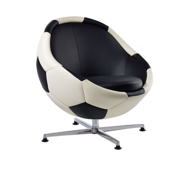 score!!!: soccer ball chair is kickin' | great things | pinterest
