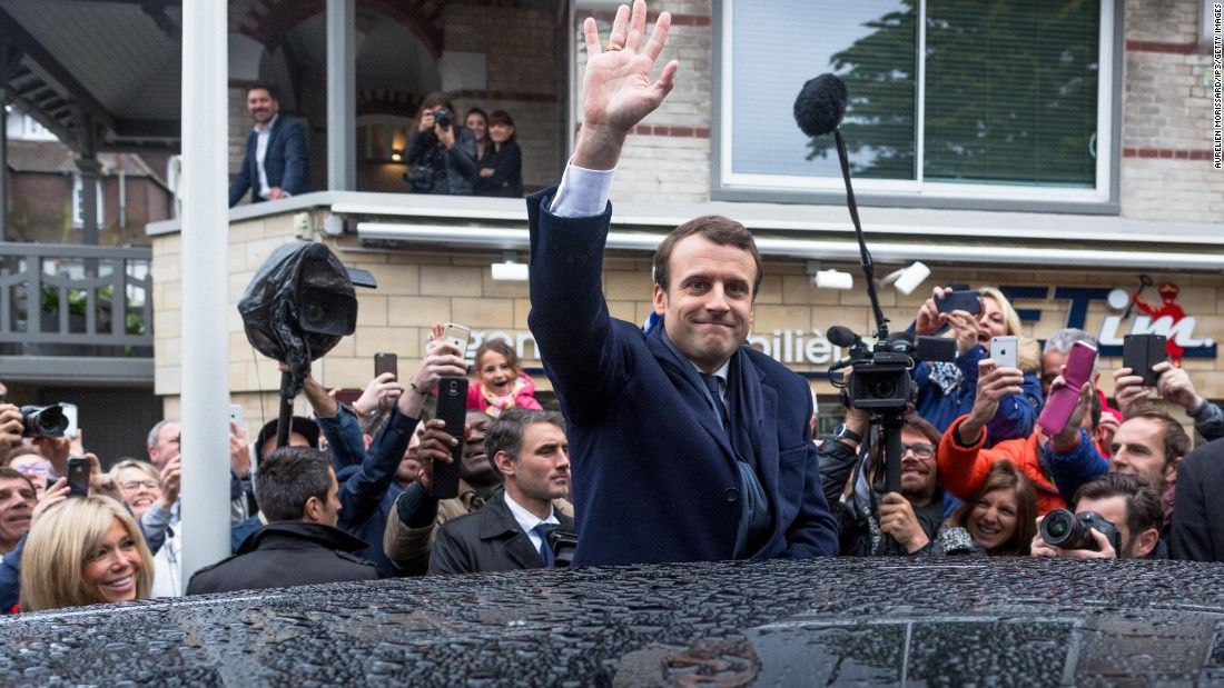 nice Macron on course to be next French president: Live updates