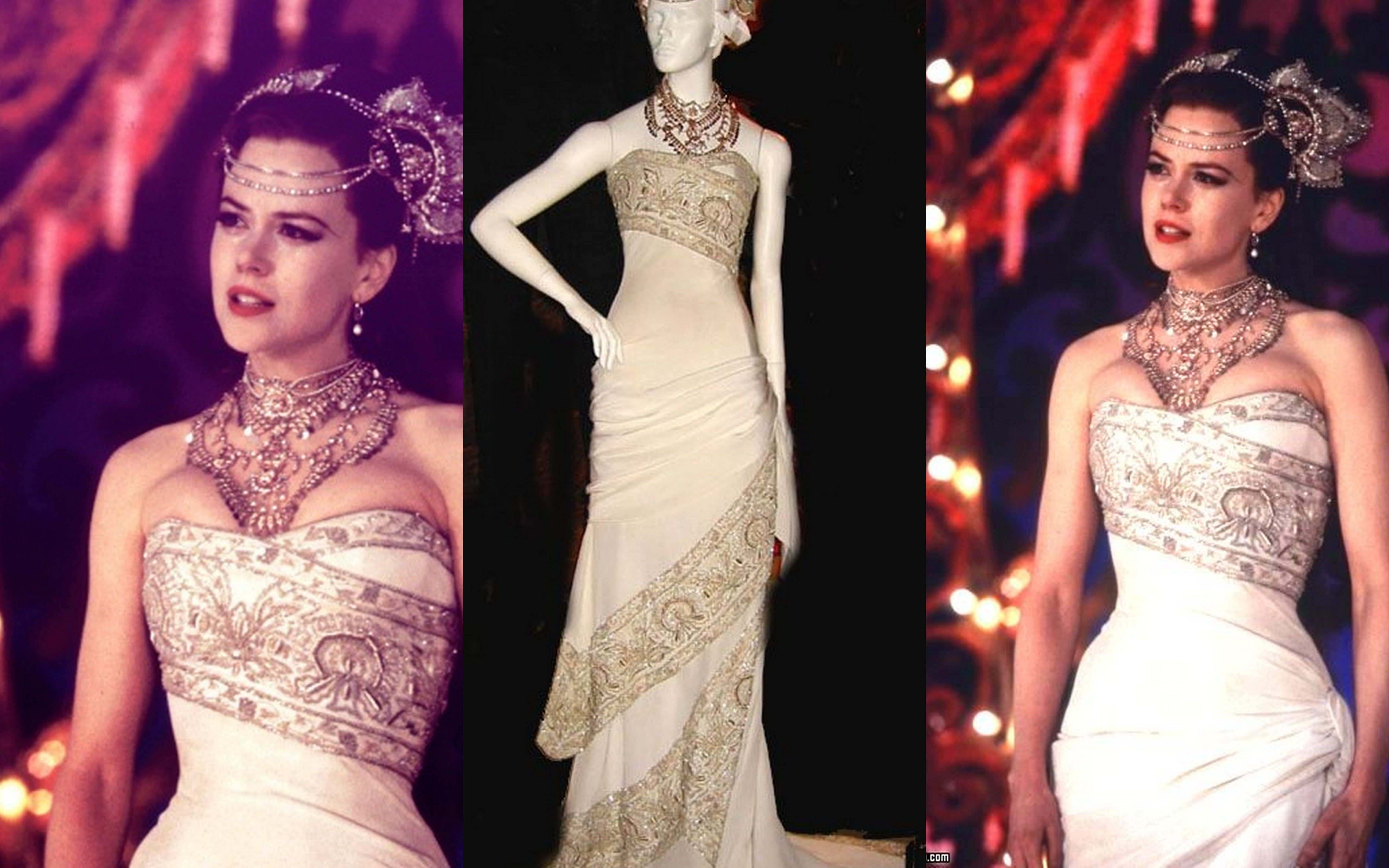 Costume Satine S Hindi Wedding Dress From Moulin Rouge Www