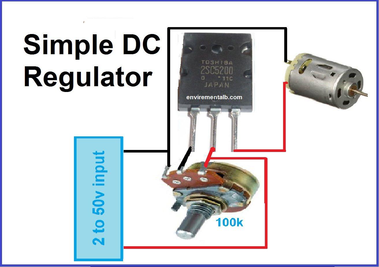 Voltage Regulator Using Transistor Envirementalb Com In 2020 Voltage Regulator Regulators Transistors