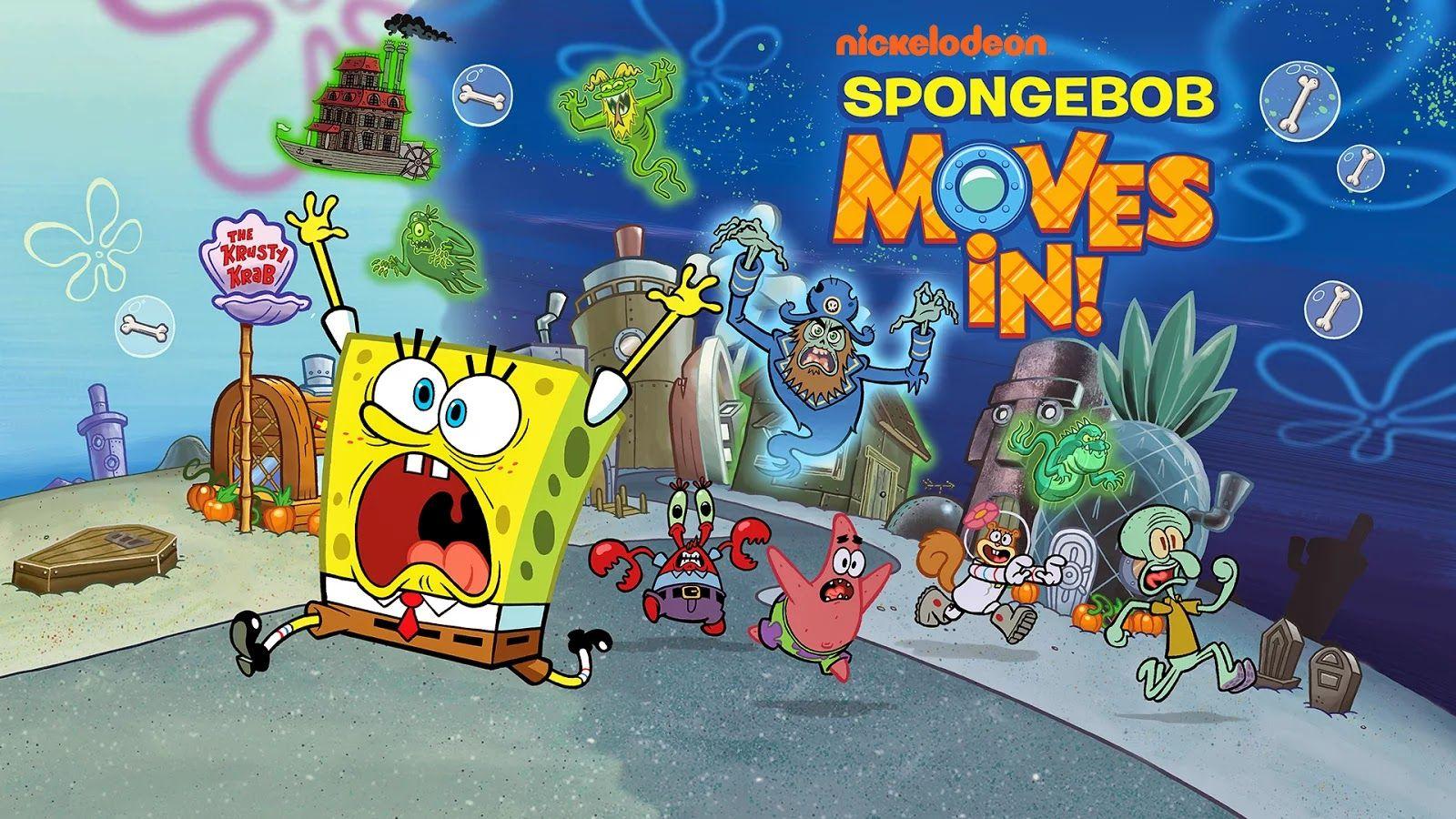 download spongebob squarepants moves in mod apk