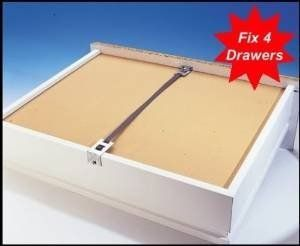 Fix A Drawer Kit X4 Pack Repair Broken Drawers Quickly Easily Reinforce Strengthen Drawers Mend Broken Drawers Diy Renovation Furniture Repair Repair