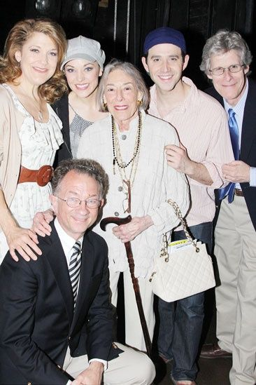 Cinderella Stars Get A Royal Visit From Composer Mary Rodgers Rodgers And Hammerstein S Cinderella Laura Osnes Cinderella Broadway