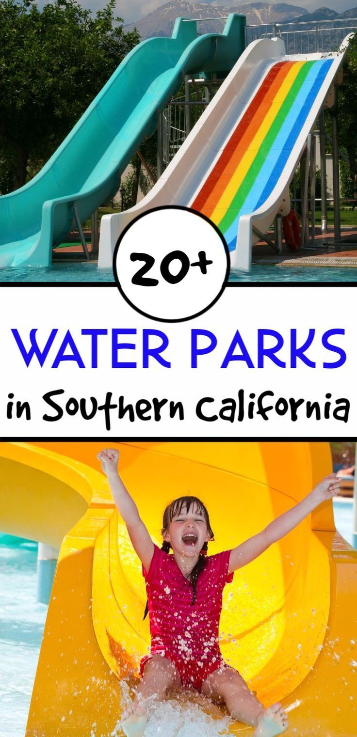 Are you looking for a great place to beat heat in California? Here is a list of 20+ Water Parks in Southern California to spend the day with family and friends.  This list is also a great resource for summer schools and camps. #waterpark #waterparks #california #familytravel #travelblogger #summerfun #summertravel
