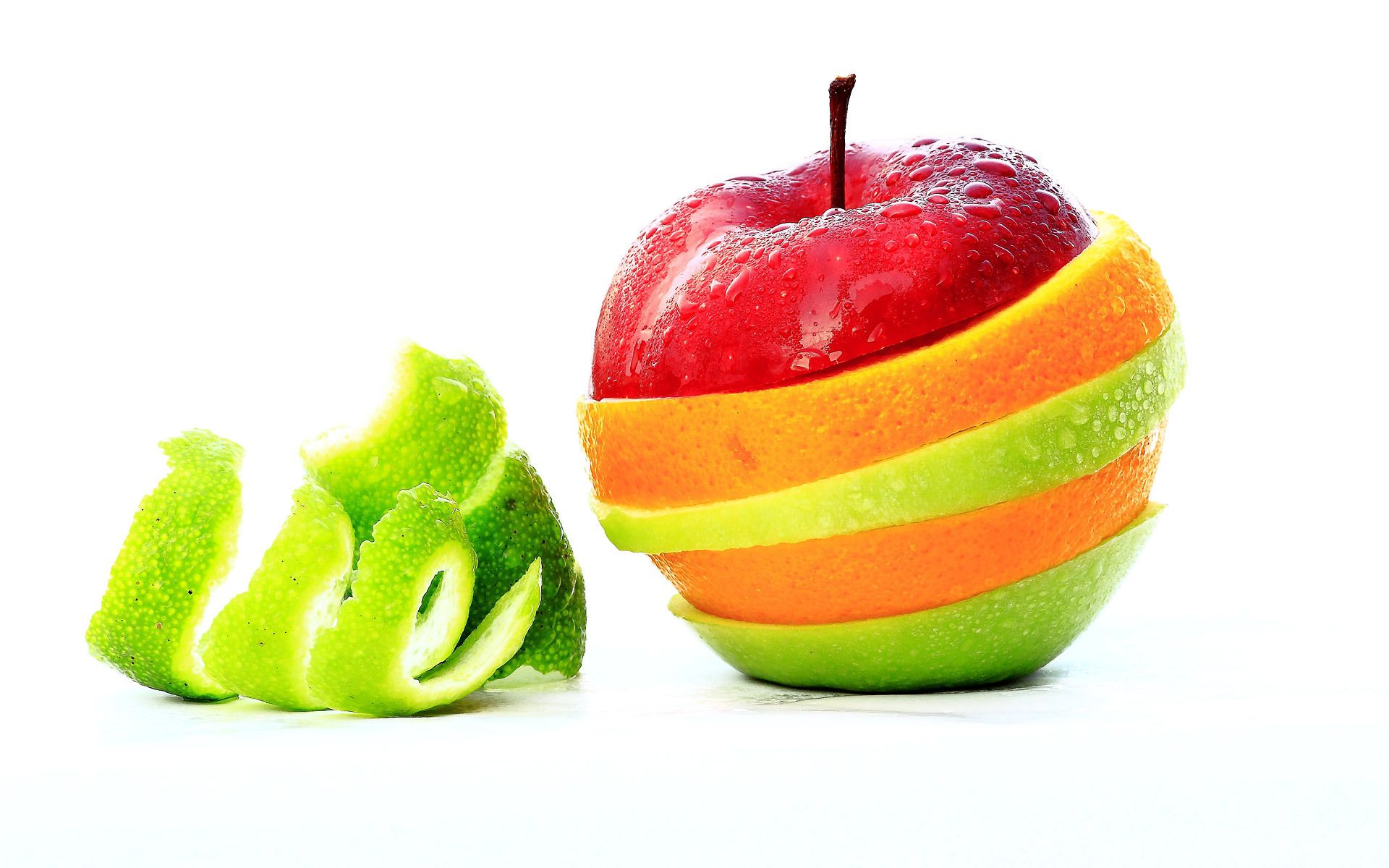 Sliced Fruits Fruit wallpaper, Fruit, Apple fruit