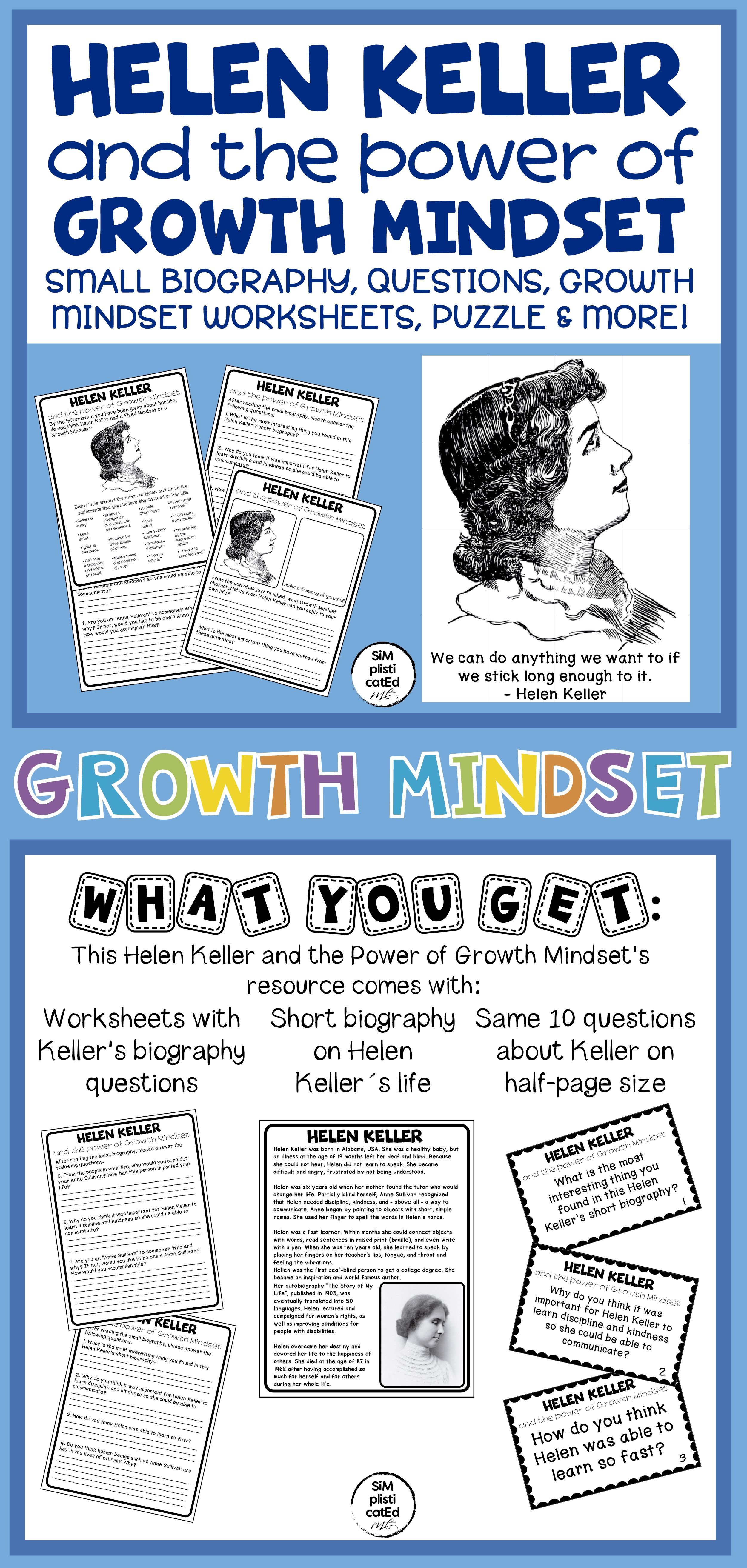 Helen Keller And The Power Of Growth Mindset