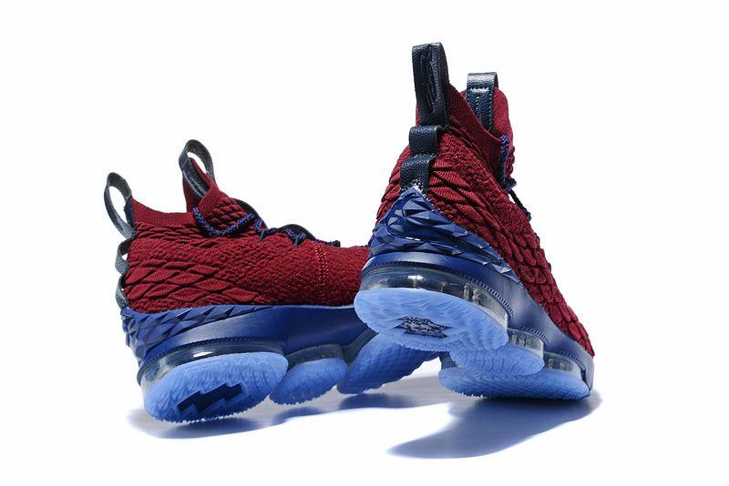 the latest e4ac7 3735c Nike LeBron 15 Wine Blue