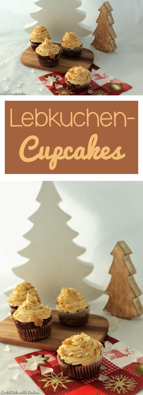 Lebkuchen-Cupcakes - der Klassiker mal anders #cupcakesrezepte